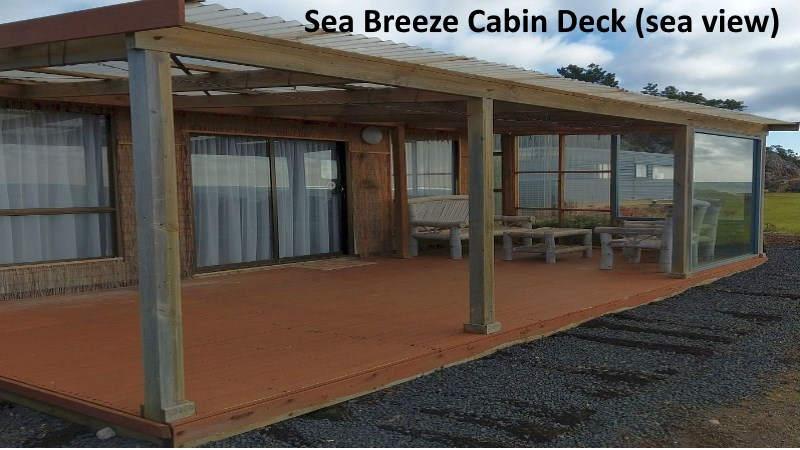 Sea Breeze Cabin Deck